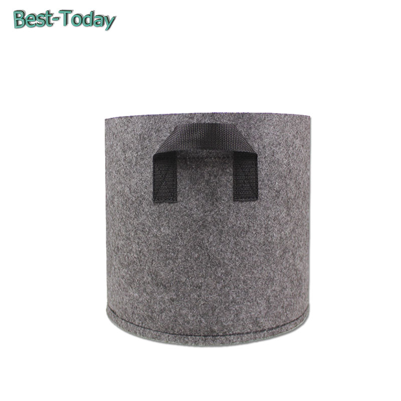 <strong>PET THICK AND DURABLE CUSTOM GREY FABRIC SMART POT</strong>